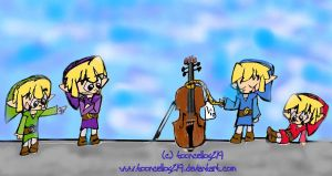 'I gots his cello' by tooncellos219
