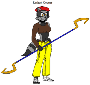 Sly Cooper Rachael Coopers File By Emikodo On Deviantart