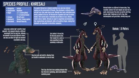 SPECIES PROFILE: Khresali by ImfromMoon