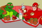 TMNT: Mikey and The Flash