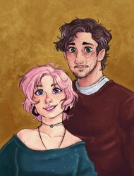 Remus and Tonks by s0alaina