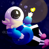 Undertale: Sans - Don't Give up Brother! by Cleasia
