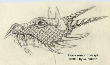 Horse Armor Concept by M-Skirvin
