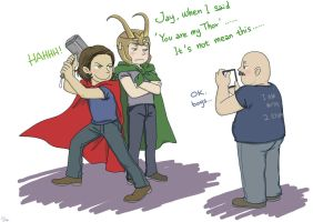 J2: You are my Thor by SilasSamle