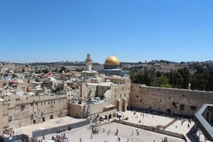 Jerusalem, Israel: Wailing Wall/Dome Of The Rock by totally-espionne