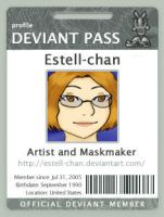Deviant Pass ID by Estell-chan