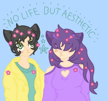 NO LIFE BUT AESTHETIC by ReReStar1090