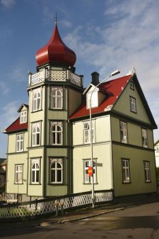 Reykjavik house 1 - Iceland by wildplaces