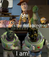 Two springtrap's (meme) by AgentPrime