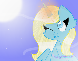 .: Art Trade :. Alone In The Dark by FuzzyKitten315