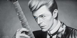 David Bowie by CHAOSART666