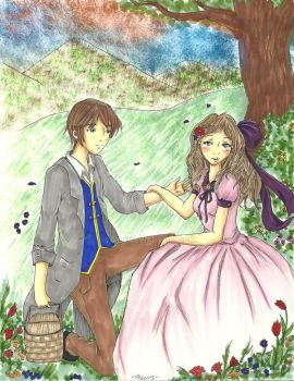 Prince and Princess Request by Loilie