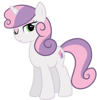 Grown up Sweetie Belle by JennieOo