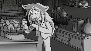 Hyde in the Lab | Alive Animatic Panel by QuincySoulz