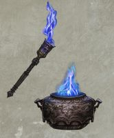 The Sacred Flame - Objects by pixieface