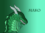 Mako AT for FortuitousFox by talons-and-tails
