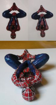 painted spiderman by ptitClem