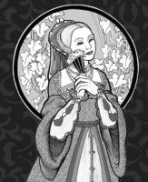 Tudor Lady No.2 by rinaswan
