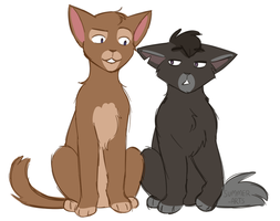 klance but like they're cats by summer-draws