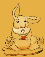 Disapproving Rabbit by Inkerbel