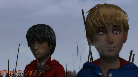 [TS4] Chris and Daniel [TAAOCS] by NarutoTheSims