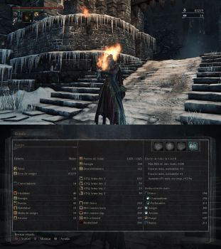 Bloodborne level 110 Ludwig's knightess by Deadalivefan