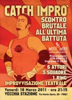 Improvisation Theatre Show Poster by ClaudiaCangini