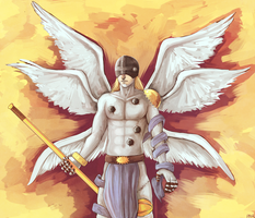 Angel of Revelation 2 by SimplyPab
