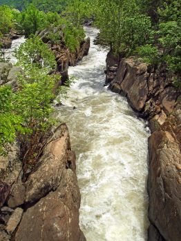 Great Falls of the Potomac 10 by Dracoart-Stock