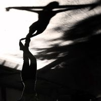 dancing with shadow by CanDaN