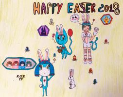Happy Easter 2018 by LUNA1071996