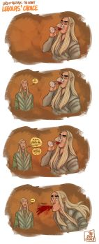 LOTR - Legolas' Choice by the-evil-legacy