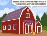 MLP:FIM - Racist Barn by ah-darnit