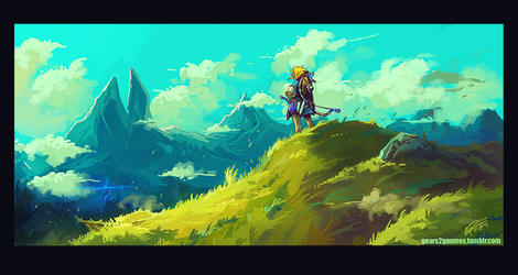 The Legend of Zelda Breath of the Wild by knight-mj
