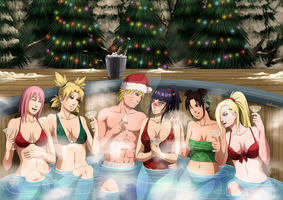 Christmas bath by mario-reg