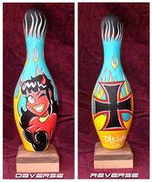 Bowling Pin Number 1 by DLNorton