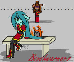 Benchwarmers by fennecthefox15