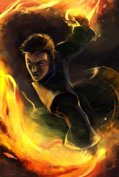 The Firebender by engelszorn