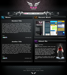 Evo Designs - New Portfolio by radioactivity