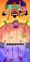 Bordertown Poster by Devinator200