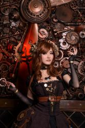 Mechanical mage by Isis Blue Fire 39 by IsisBlueFire