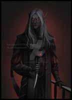 Commission_Dunmer by VictoriaDAEDRA