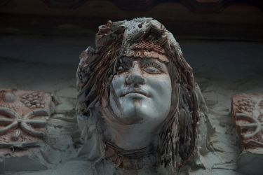 Statue Head by Mckoc