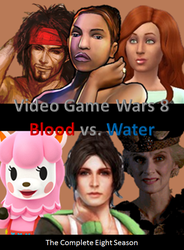 Video Game Wars 8 DVD Cover by DARealityTV