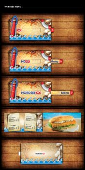 NORDSEE MENU by mezoomar