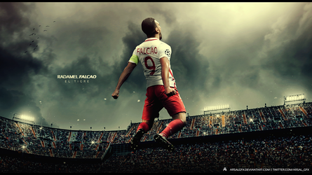 Radamel Falcao Wallpaper by ArsalGfx