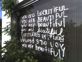 You Are Beautiful. by thealmightybeav