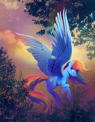 Pegasus magic by viwrastupr