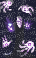 W.D Gaster by AikoChanFlores