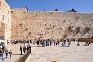 Lamentation Wall - Jerusalem Old City by Rikitza